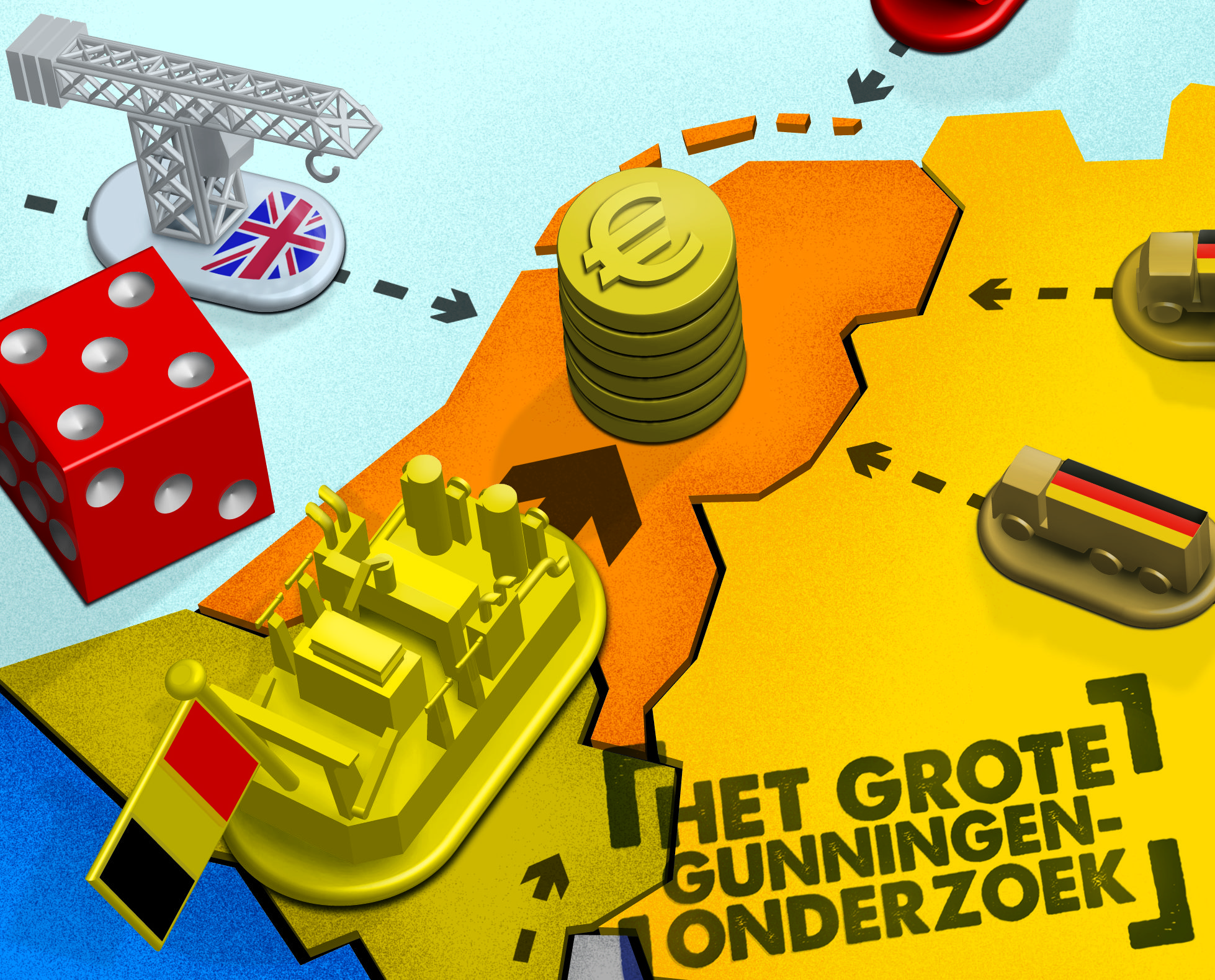 Buitenlandse bouwers boeren goed bij Rijkswaterstaat