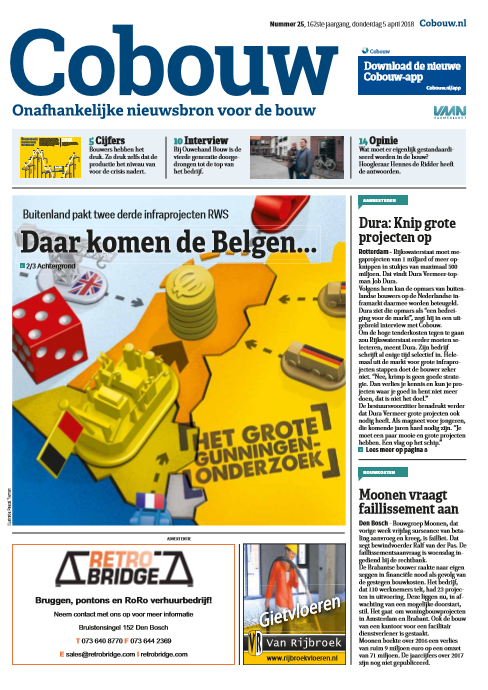 Cobouw 5 april 2018