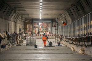 TBI rondt renovatie eerste buis Maastunnel af
