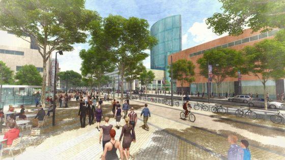 Van Gelder bouwt Coolsingel om tot groene wandelboulevard