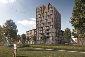 Kop van Hoog op Leen Bakker-locatie Zwolle
