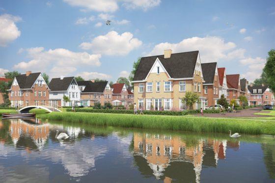 De Vlietoevers: villawijkje aan de Vliet in Voorburg