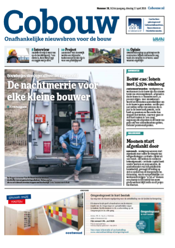 Cobouw 17 april 2018