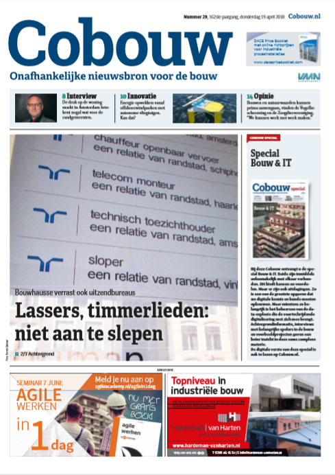 Cobouw 19 april 2018