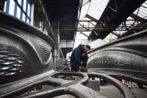 Printrobots voltooien hoofdoverspanning brug Amsterdamse wallen