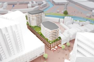 Nieuwe Stationsgebied Leiden krijgt steeds meer vorm