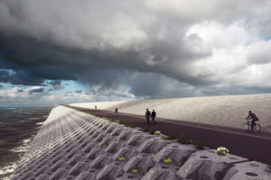 BAM en Van Oord onthullen magisch concept robuuste Afsluitdijk