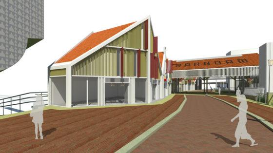 Zaandam bouwt aan traverse bij station