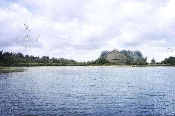 Kroon op Droomfondsproject Haringvliet: het Bird-ei