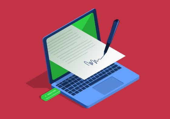 Elektronische handtekening: bezint eer ge begint