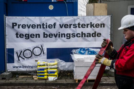 Bouwers stoppen in aardbevingsgebied Groningen