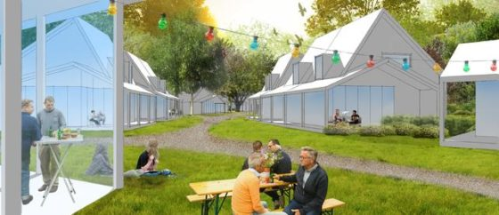 ERA bouwt Happy Days: woonwijk met campinggevoel