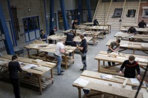 Espeq krijgt permanente bouwplaats die nooit af is op schoolplein