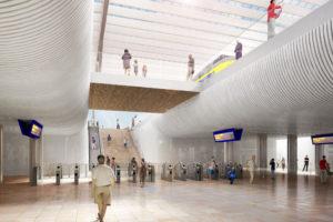 Hogere bouwkosten station Groningen: provincie maakt vaart met aanbesteding
