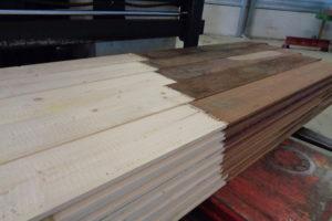 Oude hardhouten damwand keert terug als kop van nieuw exemplaar