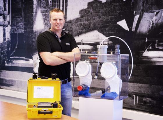 'Revolutionaire asbestmelder maakt asbestklus goedkoper, veiliger én minder troebel'