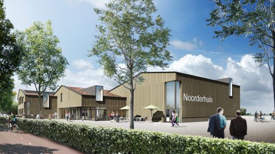 Nieuw dorpshuis voor Noordeloos, mét opbaarkamer