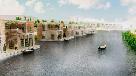 Havenlofts Rotterdam bewegen mee met eb en vloed