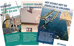 Dossiers over warmtepompen, duurzame inzetbaarheid en het echec met de zeesluis in IJmuiden