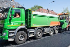 Praktijkproef met circulaire asfaltdeklaag