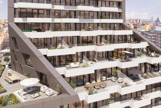 The Muse: luxe woontoren aan de Wijnhaven Rotterdam