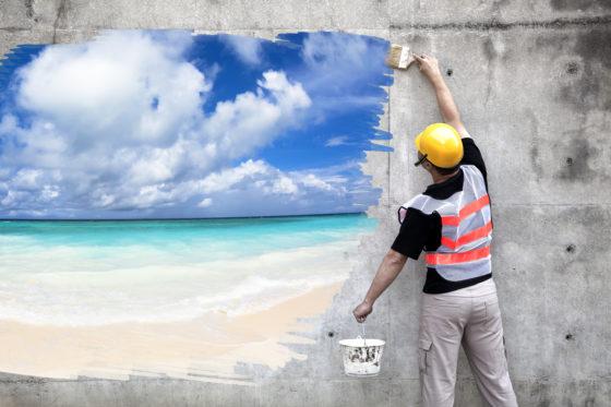 Vakantiebaantje? Ga niet in de bouw werken