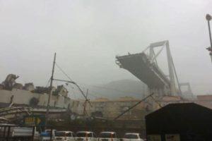 Zeker 22 doden bij instorting brug Genua