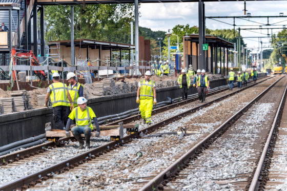 Interview RailAlert | Help, het gele hesje verdwijnt: Oranje boven op alle bouwplaatsen