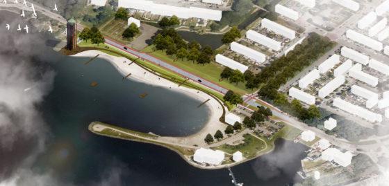 Aalsmeer krijgt wandel- en fietsboulevard aan Waterfront Westeinderplassen