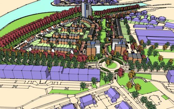 Woonwijk op voormalig Philips-terrein Oosterhout