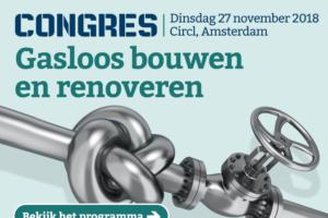 Cobouw congres: gasloos bouwen, hoe doe je dat eigenlijk?