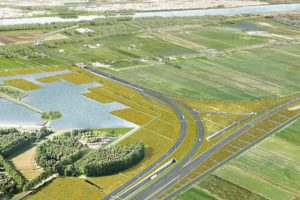 Rotterdamse tolweg A24 heeft twee gezichten: Eindelijk de eerste schep