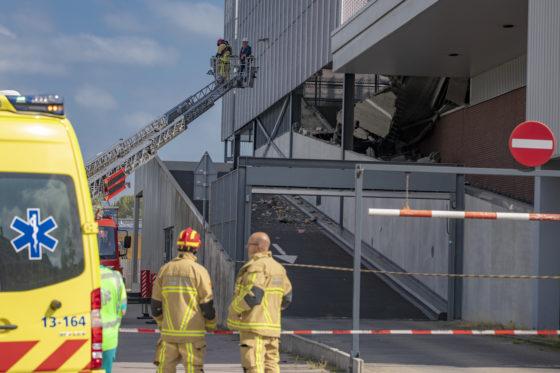 Parkeergarage Wormerveer stortte in door constructiefout; aannemer verantwoordelijk