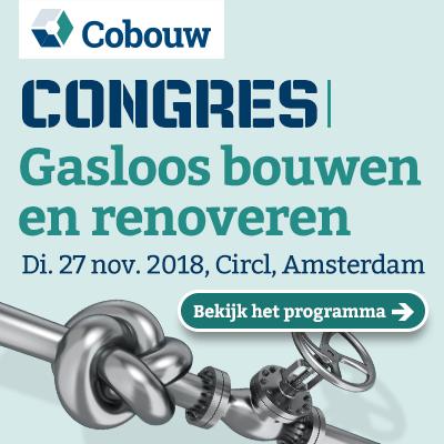 Cobouw congres over gasloos bouwen