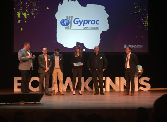 Gyproc wint Bouwkennis Marketing Jaarprijs