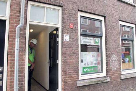 Renovatieproject de Schans in Delfshaven