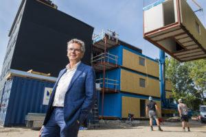 Woningcorporatie De Key waarschuwt voor bouwimplosie hoofdstad: 'We worden vermorzeld tussen Den Haag en Amsterdam'