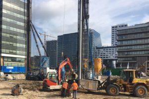 Ballast Nedam bouwt hotelwoontoren in hartje Utrecht met één torenkraan