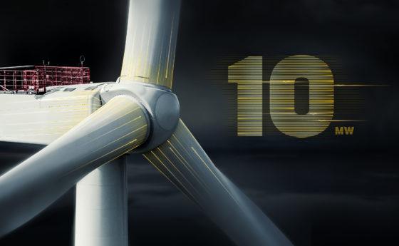 Vestas slecht magische grens van 10 MW met aangepaste turbine
