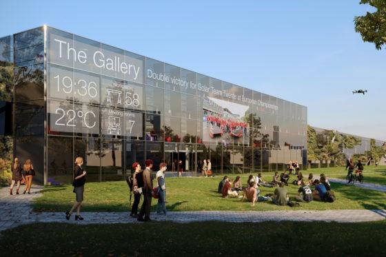 The Gallery 2 krijgt gevels en trappen van 3D-geprint sloopmateriaal
