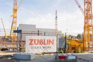 Grote financiële problemen Züblin Nederland, bouwer Y-Towers