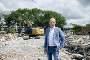 Michiel Baars innoveert aan de lopende band: na circulair beton, nu circulaire bitumen dakbanen