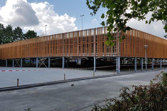Geen breedplaatvloeren in parkeergarage Fontys Eindhoven