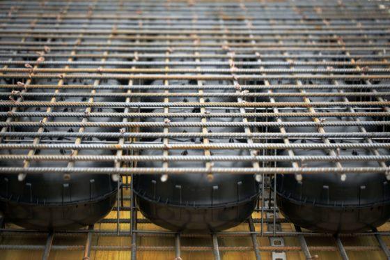 Bij Cobiax maken de bollen in de vloeren steeds vaker plaats voor andere vormen