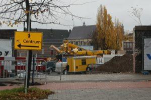 Opnieuw valt er een kraan om; nu op bouwplaats in Maastricht