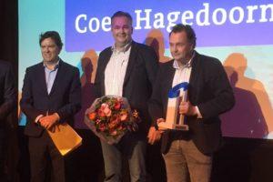 Coen Hagedoorn wint opnieuw Cobouw Award; ook betonnen bokaal voor Heembouw, PlasticRoad en NOM Best