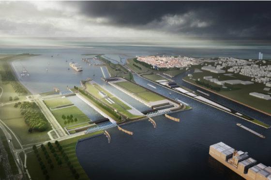 Logistieke megaprestatie: Nieuwe Sluis in Terneuzen