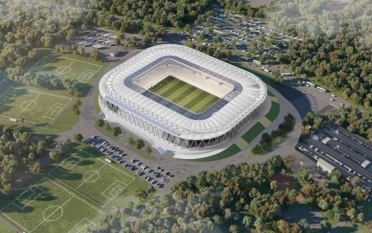 BAM bouwt nieuwe stadion Karlsruher SC