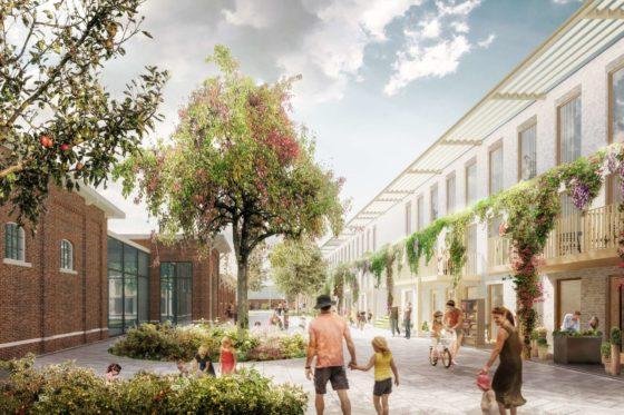 Slachthuishof, nieuwe Haarlemse wijk mét popcentrum