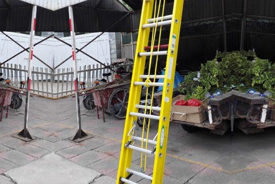 Leerling-stukadoor krijgt 15.000 euro smartengeld na val van ladder
